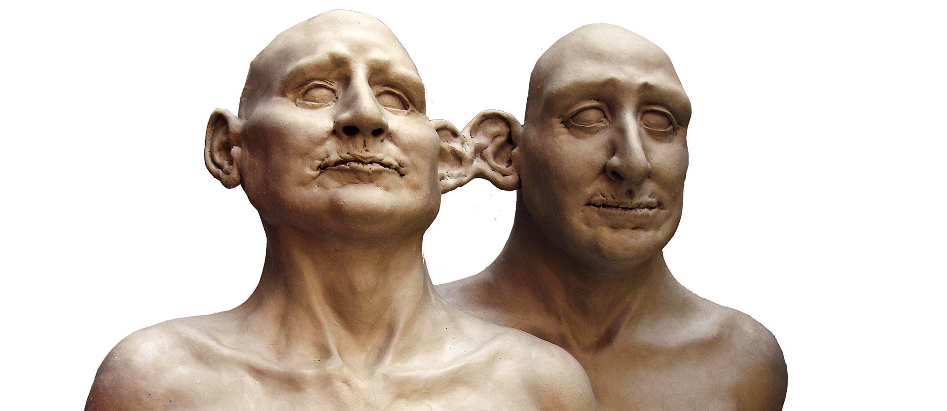 Bustes Jumeau par Gunther Roeder
